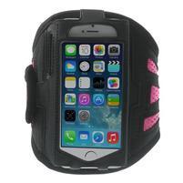 Absorb športové puzdro na telefón do veľkosti 125 x 60 mm - ružové
