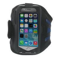 Absorb športové puzdro na telefón do veľkosti 125 x 60 mm -  modré