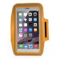 Soft puzdro na mobil vhodné pre telefóny do 160 x 85 mm - žlté
