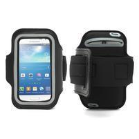 Čierne puzdro na ruku do veľkosti mobilu 125 x 61 mm