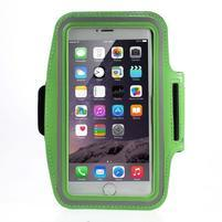 Soft puzdro na mobil vhodné pre telefóny do 160 x 85 mm - zelené
