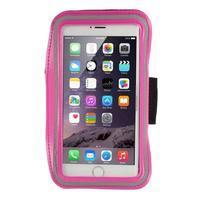 Soft puzdro na mobil vhodné pre telefóny do 160 x 85 mm -  rose