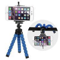 Trojnožkový stativ pre mobilné telefony - modrý