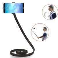 Selfies X1 tvarovatelný stojan/držiak pre mobil - čierný