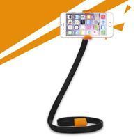 Selfies X1 tvarovatelný stojan/držiak pre mobil - oranžový