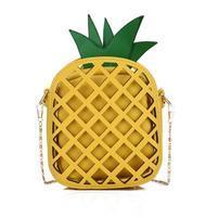 AnanasFun štýlová kabelka - žltá / žltá