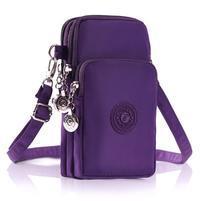 Style nepremokavá taštička na rameno i na ruku na zariadenia až do 160 x 80 mm - fialová