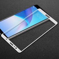 IMK celoplošné tvrdené sklo na Honor 7A a Huawei Y6 Prime (2018) - biele