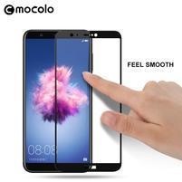 MLC celopločné tvrdené sklo na Huawei P Smart - čierne