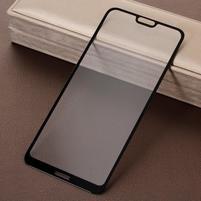 Silk celoplošné tvrdené sklo s čiernym lemem na Nokia 6.1 Plus