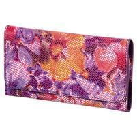 Kvetinová univerzálna kapsička na mobil do rozmerov 13,2 x 6,5 cm - rose