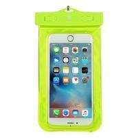 Base IPX8 vodotěsný obal na mobil do 158 x 78 mm - zelený