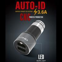 QCH3 vysokorýchlostná nabíjačka 2 výstupy USB / 3.6A