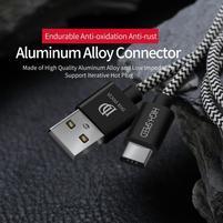 Vysokorýchlostný USB Type-C pre nabíjanie a synchronizáciu - 25 cm