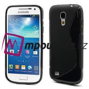 Gelové S-line pouzdro pro Samsung Galaxy S4 mini i9190, i9192, GT-i9195 - černé - 1