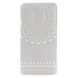 Gelový obal na mobil Lenovo K5 Note - krajky - 1