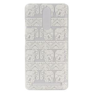 Gélový obal pre mobil Lenovo K5 Note - slony - 1