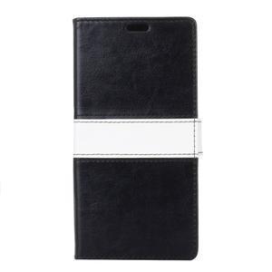 Colory knížkové pouzdro na Lenovo K5 Note - černé - 1