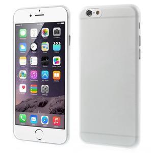 Ultra slim 0.3 mm plastové puzdro na iPhone 6, 4.7  - transparentný - 1