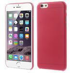 Ultra slim 0.3 mm plastové puzdro pre iPhone 6, 4.7  - červené - 1/3