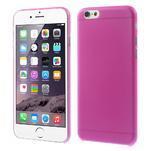 Ultra slim 0.3 mm plastové puzdro pre iPhone 6, 4.7  - ružové - 1/5