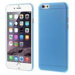 Ultra slim 0.3 mm plastové puzdro na iPhone 6, 4.7  - modré - 1/5