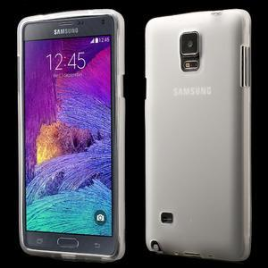 Gélové puzdro pre Samsung Galaxy Note 4- transparentný - 1
