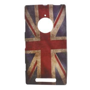Gélové puzdro na Nokia Lumia 830 - UK vlajka - 1