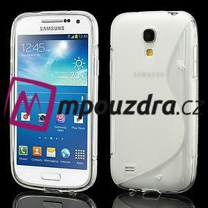 Gelové S-line pouzdro pro Samsung Galaxy S4 mini i9190, i9192, GT-i9195 - transparentní - 1