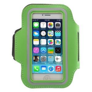 BaseRunning puzdro na ruku pre telefony do 125*60 mm - zelené - 1
