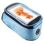 Prostorná brašna na kolo pro mobilní telefony do rozměru 158,1 x 78 x 7,1 mm - modrá - 1/6
