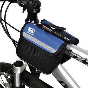 Víceúčelová brašna na kolo pro mobilní telefony do 95 x 45 mm - 1