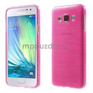 Broušené puzdro na Samsung Galaxy A3 - rose - 1