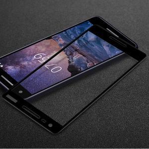 IMK celoplošné sklo na mobil Nokia 2.1 - čierne