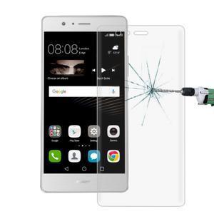 Protinárazové celoplošné tvrdené sklo pre mobil Huawei P9 - transparentný - 1