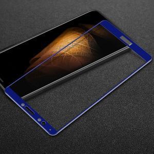IMK celoplošné tvrdené sklo na Huawei Y7 Prime (2018) - modré