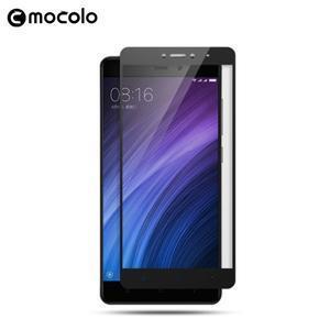 MLC celoplošné ochranné tvrdené sklo na Xiaomi Redmi Note 5A - čierne