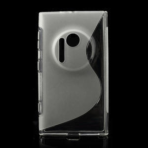 Gélové S-line puzdro pre Nokia Lumia 1020- transparentný - 1