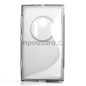 Gélové S-line puzdro pre Nokia Lumia 1020- šedá - 1