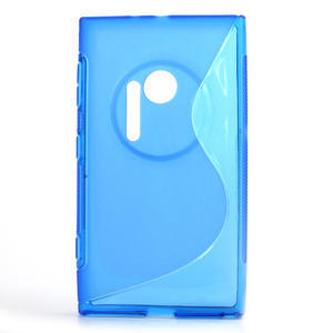 Gélové S-line puzdro pre Nokia Lumia 1020- modré - 1
