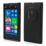 Gélové matné puzdro pre Nokia Lumia 1020- čierné - 1/6