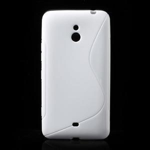 Gélové S-line puzdro pre Nokia Lumia 1320- biele - 1