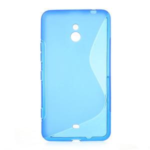 Gélové S-line puzdro pre Nokia Lumia 1320- modré - 1