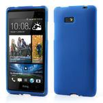 Gélové matné puzdro pre HTC Desire 600- modré - 1/6