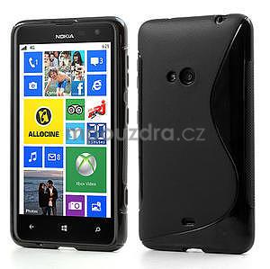 Gélové S-line puzdro pre Nokia Lumia 625- čierné - 1