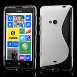 Gélové S-line puzdro pre Nokia Lumia 625- transparentný - 1/7