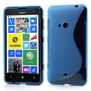 Gélové S-line puzdro pre Nokia Lumia 625- modré - 1