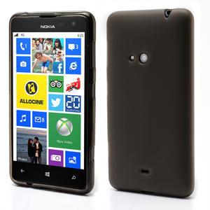 Gélové matné puzdro pre Nokia Lumia 625- sivé - 1