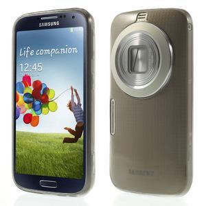 Gélové Ultraslim puzdro na Samsung Galaxy K Zoom- šedé - 1
