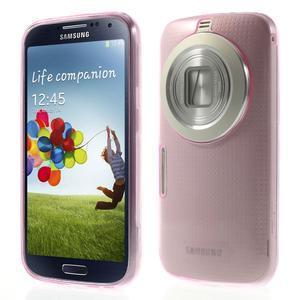 Gélové Ultraslim puzdro pre Samsung Galaxy K Zoom- ružové - 1